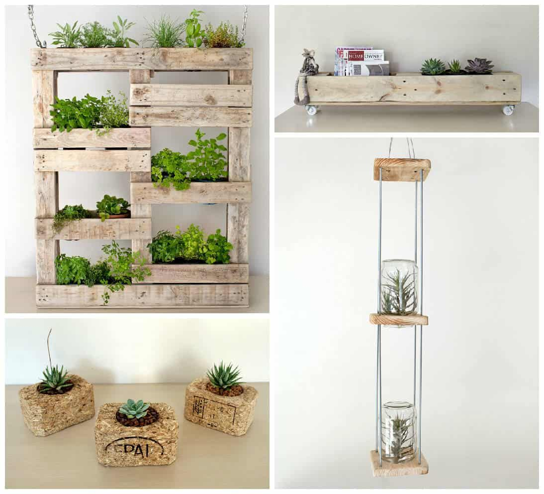 Reclaim Design Products   Pallet garden, Vertical pallet ...