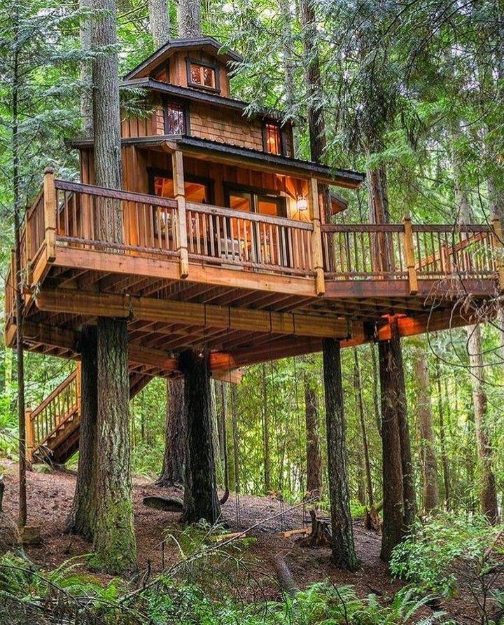 Luxury Tree Houses Designs: Have You Met My My Friend @wildtreewoodworks? He Makes