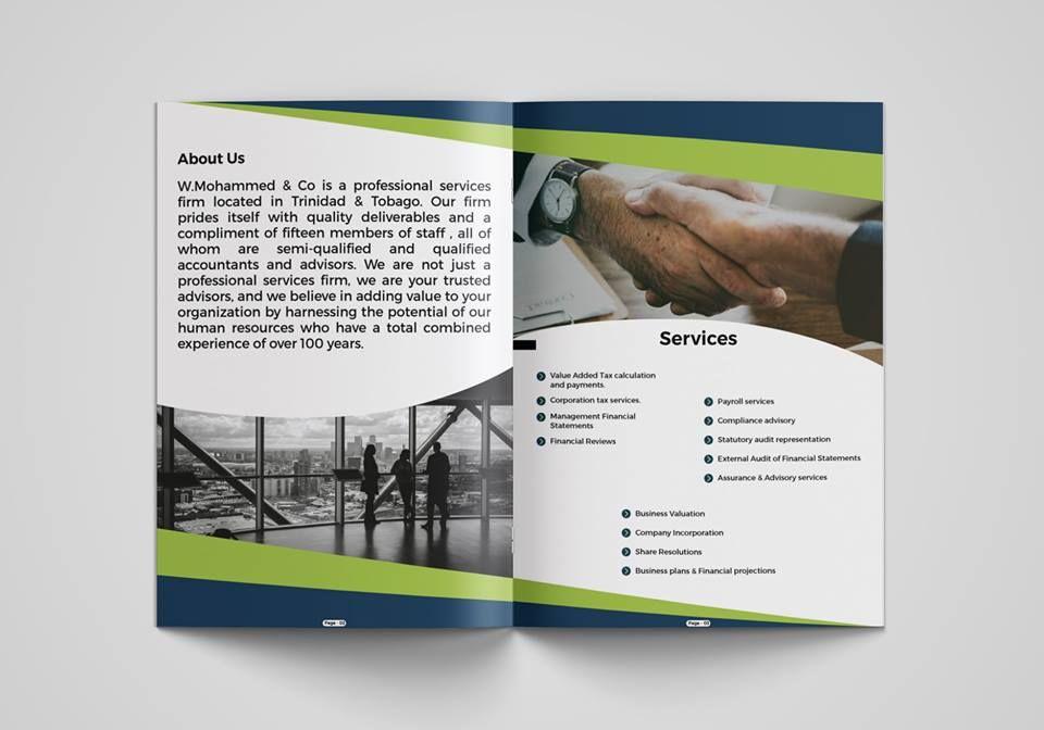 Pushpo Pro I Will Design A Professional Brochure Company Profile In 12 Hrs For 5 On Fiverr Com Company Profile Professional Brochure Profile