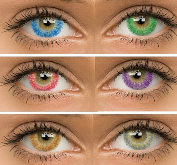 8 Color Contact Lenses Contact Lenses Colored Colored Contacts Natural Contact Lenses