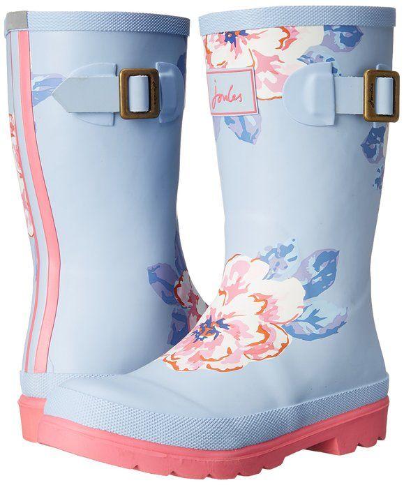 81c2880a2 Amazon.com  Joules JNR Girls Welly Rain Boot (Toddler Little Kid Big ...