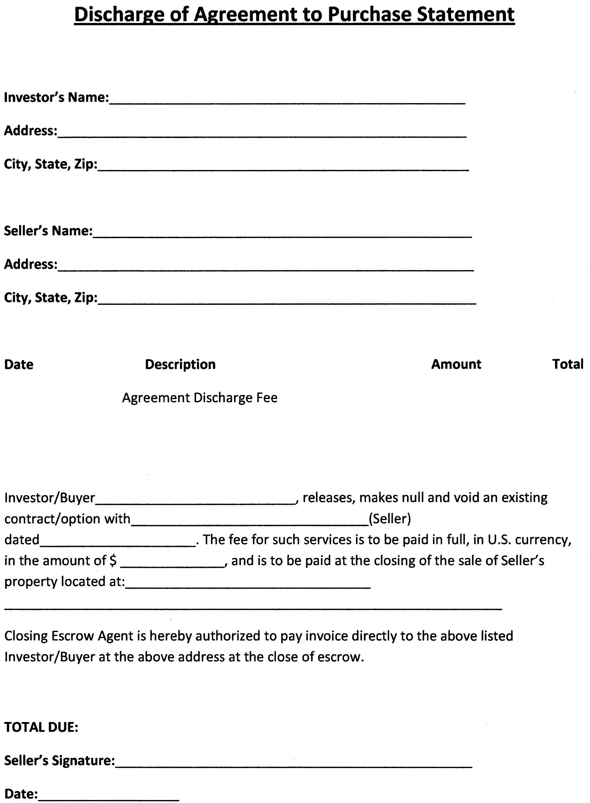 Purchase Agreement Template | http://webdesign14.com ...