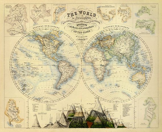Map of the world vintage map of the world world map poster map of the world vintage map of the world world map poster large world map poster gumiabroncs Image collections