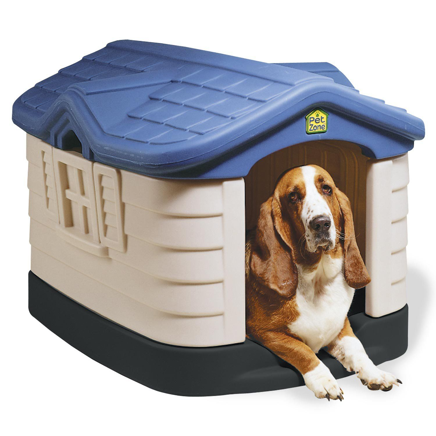 Our Pet S Cozy Cottage Dog House Medium Plastic Dog House Cool