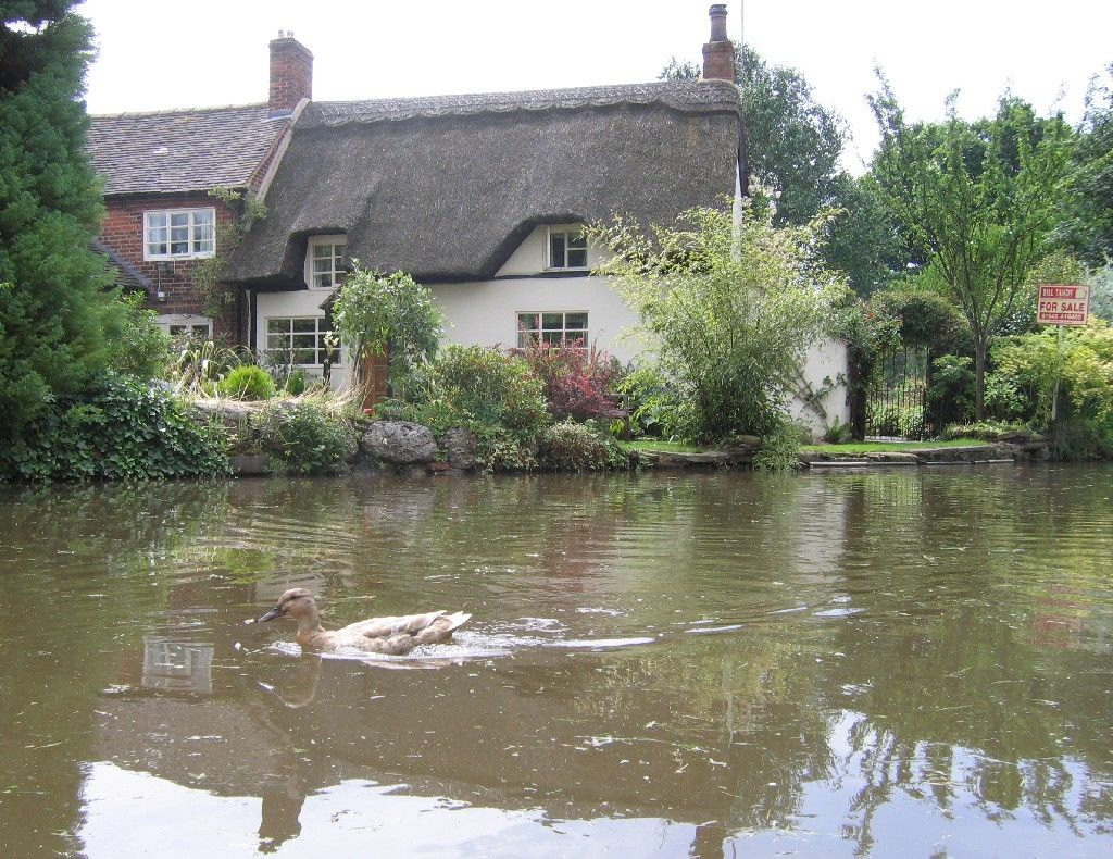POA Staffordshire, ENGLAND. Substantial Moated Castle