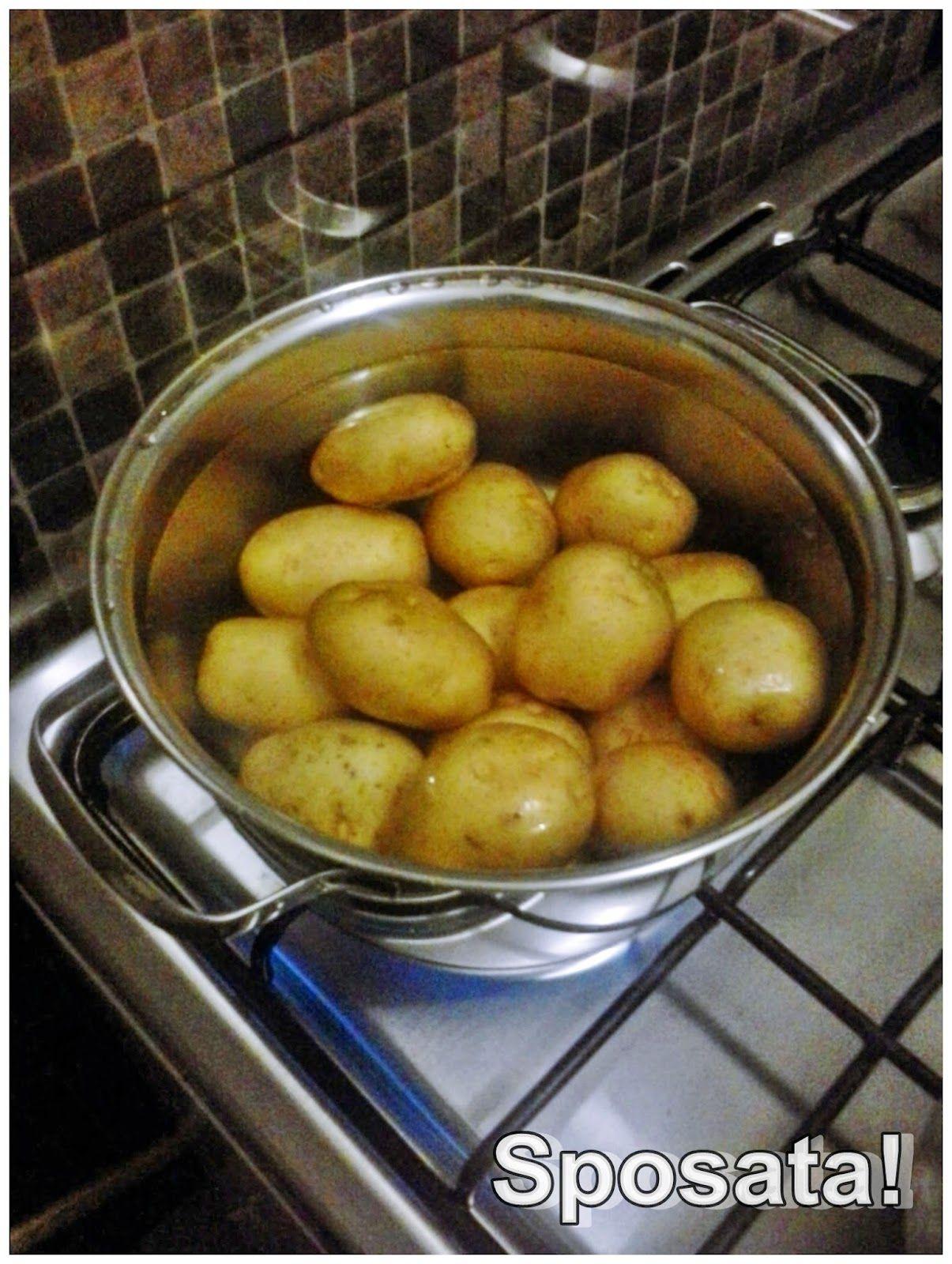 "Sposata!: Receitas | Batatas ""esmagadas"" crocantes"