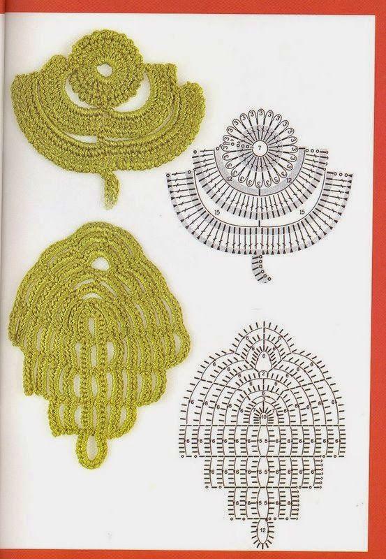 Meu Paraiso | ирландское кружево | Pinterest | Crochet irlandés ...