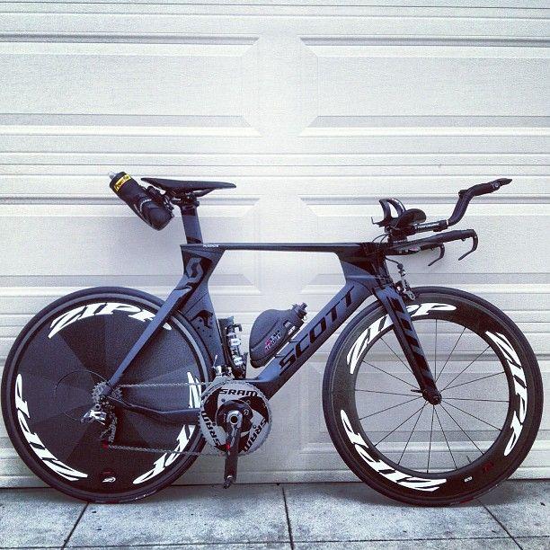 By Lukemckenzie Tri Bicycle Scott Zipp Bicicleta De Estrada