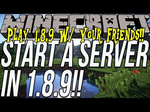 How To Start A Minecraft Server Play Minecraft W - Minecraft lan spielen 1 8