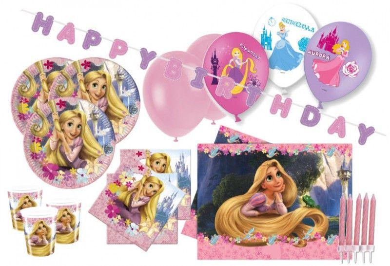 XXL Rapunzel Party Deko Set