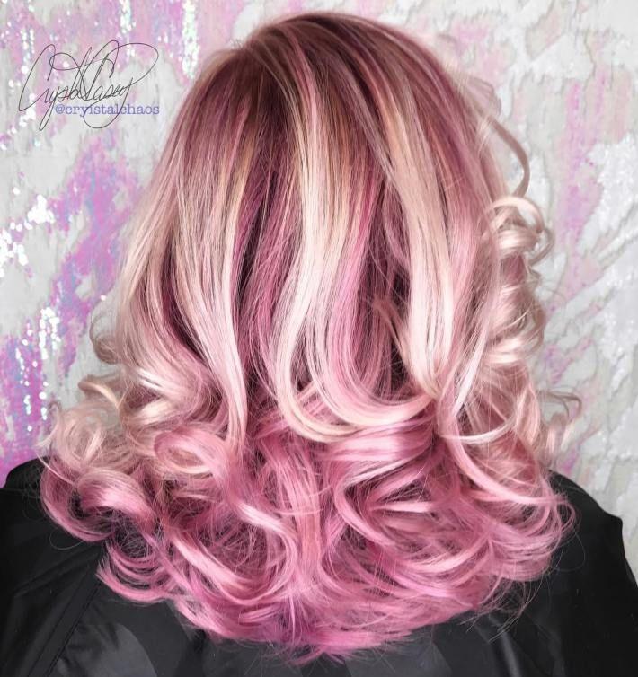 40 Ideas Of Pink Highlights For Major Inspiration Pinterest