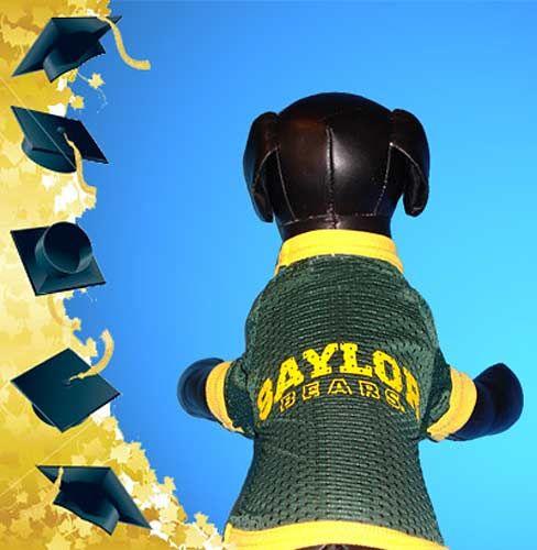 size 40 d4d49 425dd Baylor University Bears - Athletic Mesh Dog Jersey Medium ...