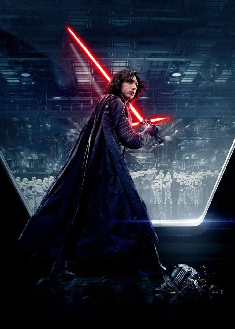 New Character Posters For Star Wars The Last Jedi Star Wars Wallpaper Star Wars Poster Star Wars Kylo Ren