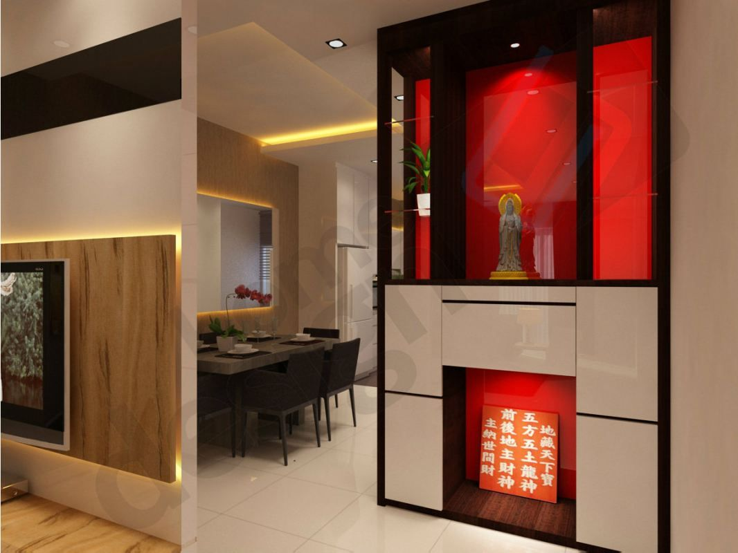 Cai yi construction m sdn bhd altar 3d design skudai for Office design johor