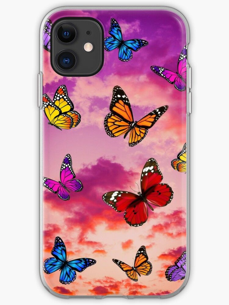 casetify iphone 11 butterfly case
