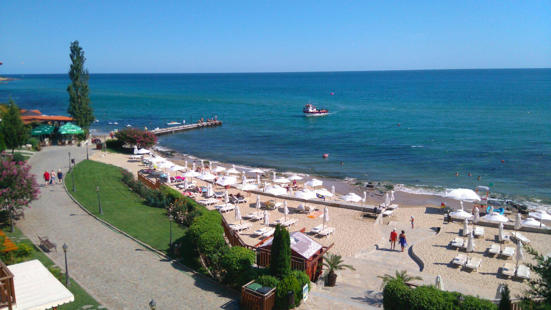 The Beach At Garden Of Eden Resort St Vlas Bulgaria Garden Of Eden Garden Resort