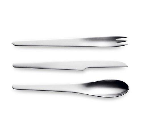 Georg Jensen cutlery set designed by Arne Jacobsen