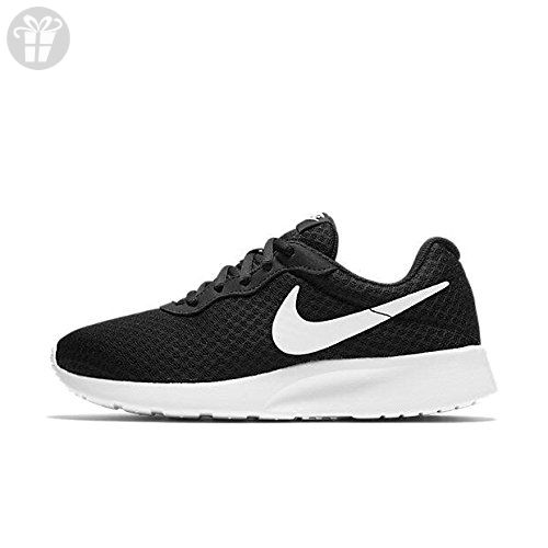 69ad84c04fc9f Nike Womens Tanjun Running Sneaker Black/White 10 (*Amazon Partner ...