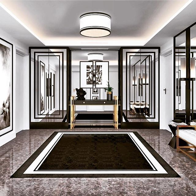 A lovely foyer ✨✨ for more inspirations follow @elysse_inspirations • • @elysse_inspirations @elysse_inspirations @elysse_inspirations • • via @ysdistanbul • • •• • •#homeoftheday #modernhomes #architecture #millionairehomes #beautifulhouse #home #homey #elysse_inspirations #house #designbuild #housedesign #residentialdesign #mansion #interiorlovers #realestate #realestatephotography #villas #moneytalks #houseandhome #housebeautiful #modernhomes #luxuryrealestate #blackandwhite #moderndesign #