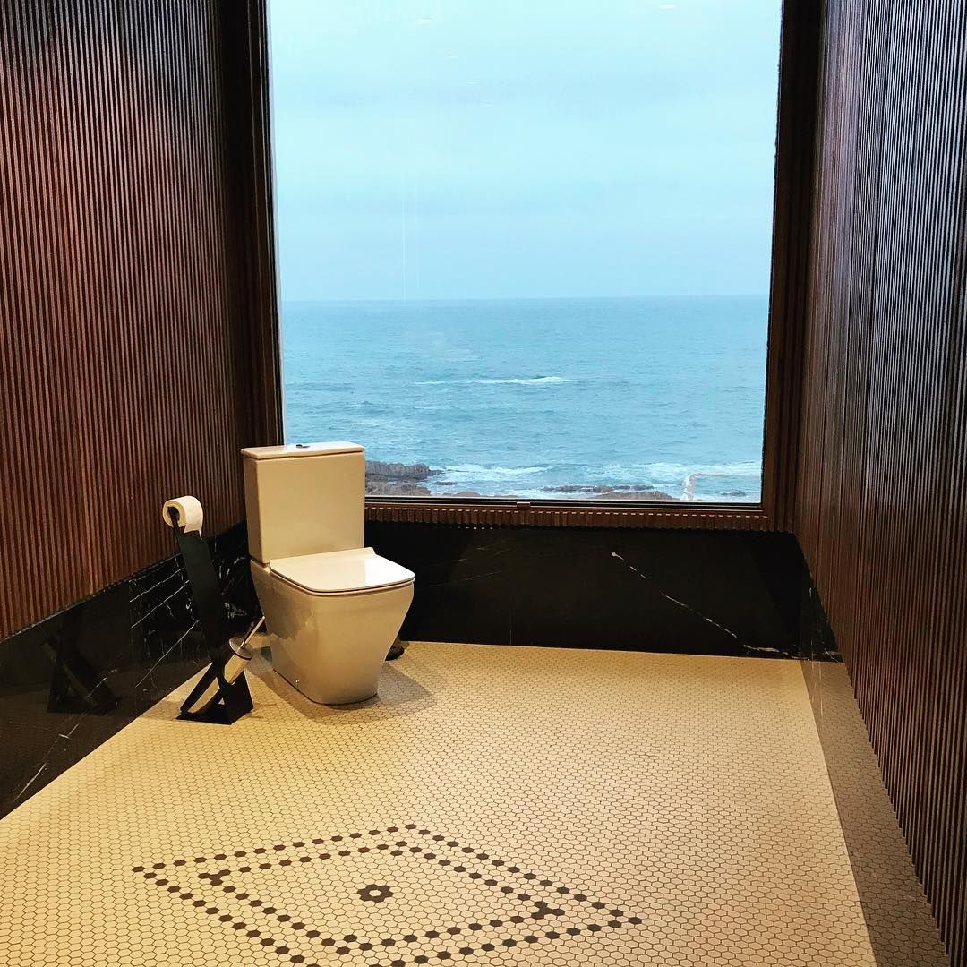 Bath Room With A View Casablanca Maroc Toilet Roomwithaview Peeinpeace Bathroom Design Design Room