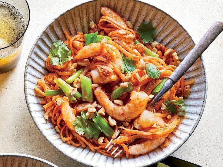 1810 - Spicy Shrimp Noodles,  1810 - Spicy Shrimp Noodles,
