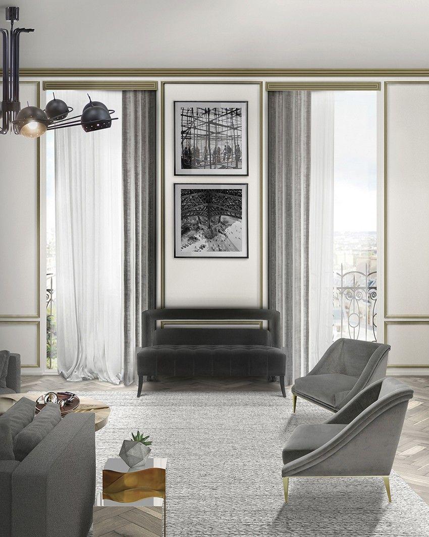 Ideen für zeitgenössische Wohnzimmer | Zeitgenössische wohnzimmer ...