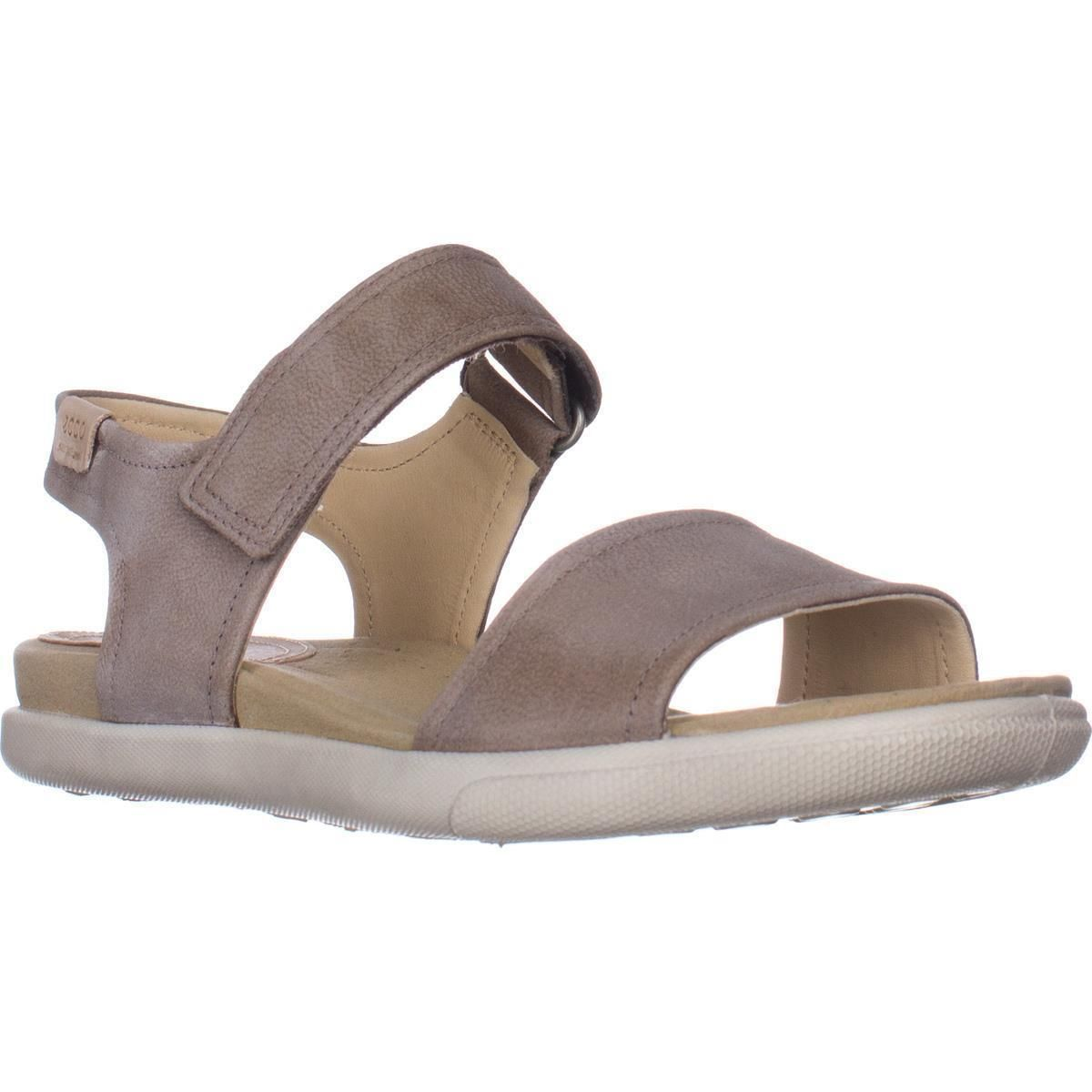 0c00e024f93e ECCO Damara Flat Comfort Sandals
