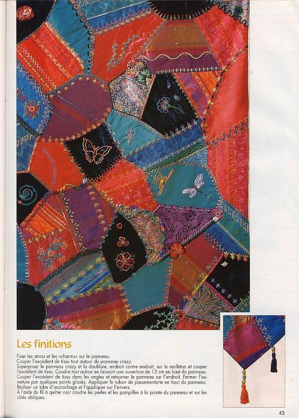 Magic patch quilts crazy et embellis - Le blog de Sophie Gelfi ... : magic patch quilting - Adamdwight.com