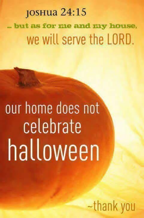 i personally do not celebrate halloween but i dont condemn others who do we all have different beliefs and convictions