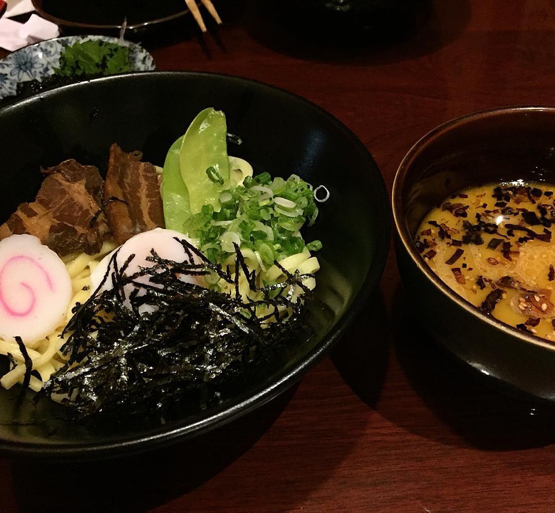 Tsukemen - Soba with Miso Ramen Broth Egg Fish cake and veggies  japanesefood #okinawanfood #tsukemen #food #foodie #foodpic #foodporn #foodoftheday #foodinstagram #yum #yummy #delish #delicious #instapic #instafood #instagood #instafoodie #ocfood #ocfoodie #bobcebuoc #bobcebutsukemen #bobcebuhabuyaokinawa  by bobcebu