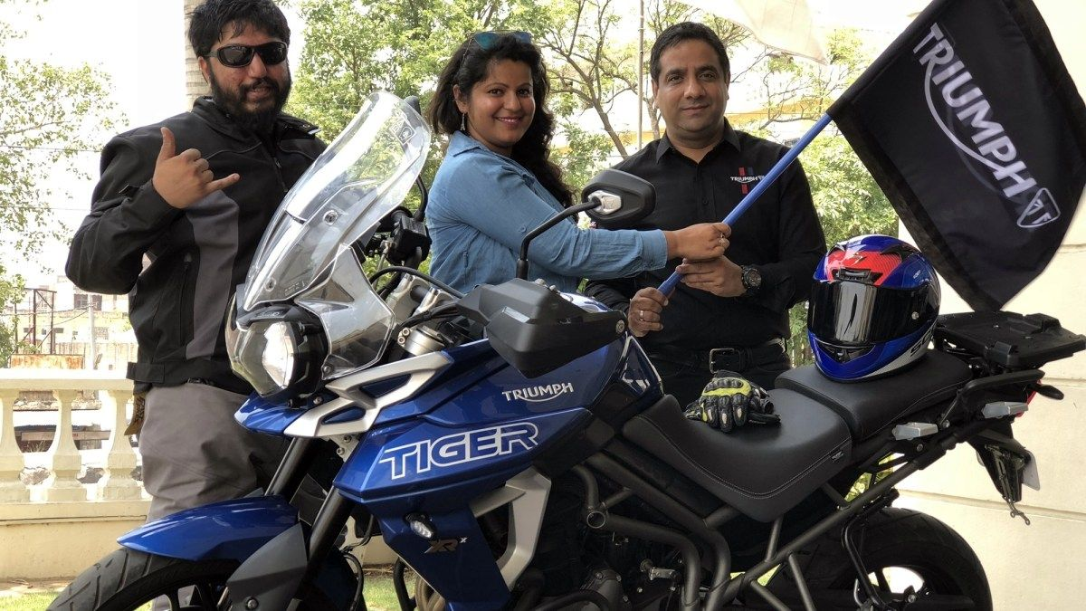 Triumph Motorcycles India flags off K2K road safety ride