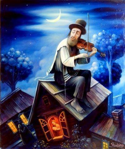 Fiddler on the Roof Original by Boris Shapiro