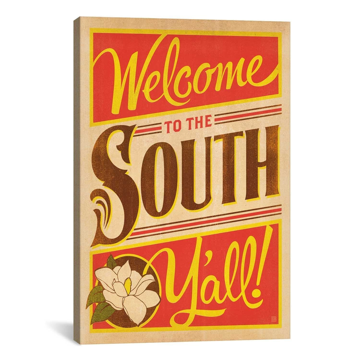 iCanvasART Anderson Design Group South Carolina Series: Welcome to ...
