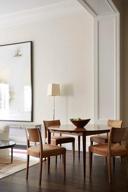 Room · round dining table rita konig designs