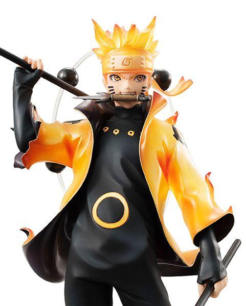 Naruto Uzumaki Rikudou Sennin Mode The Sage Of Six Paths
