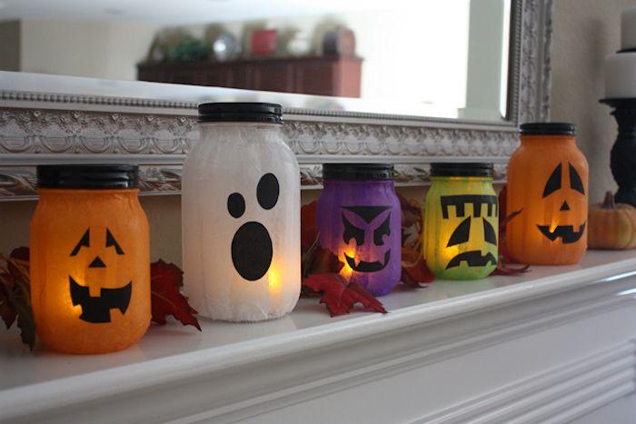 ▷ 1001 + Ideen für Halloween Deko basteln zum Entlehnen #weckgläserdekorieren