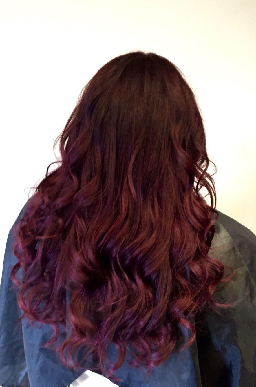 chocolate brown ombr233 colour melt hair colour into light