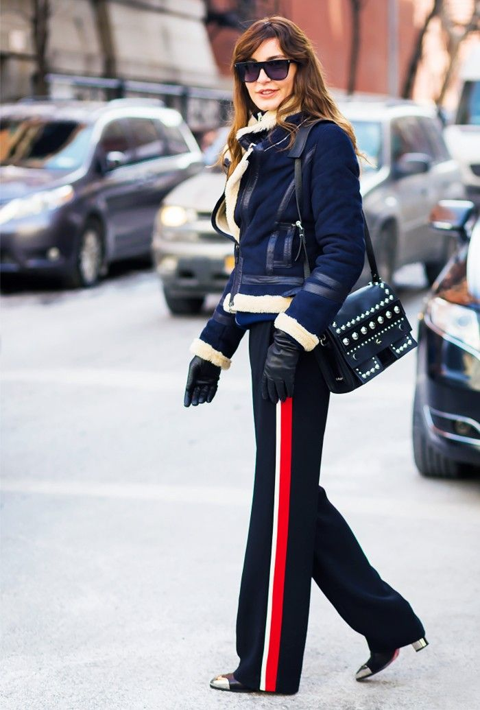 Trend Report: Side-Stripe Pants via @WhoWhatWear