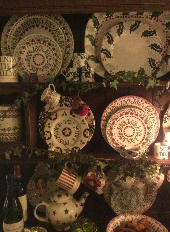 Emma Bridgewater Christmas display 2014