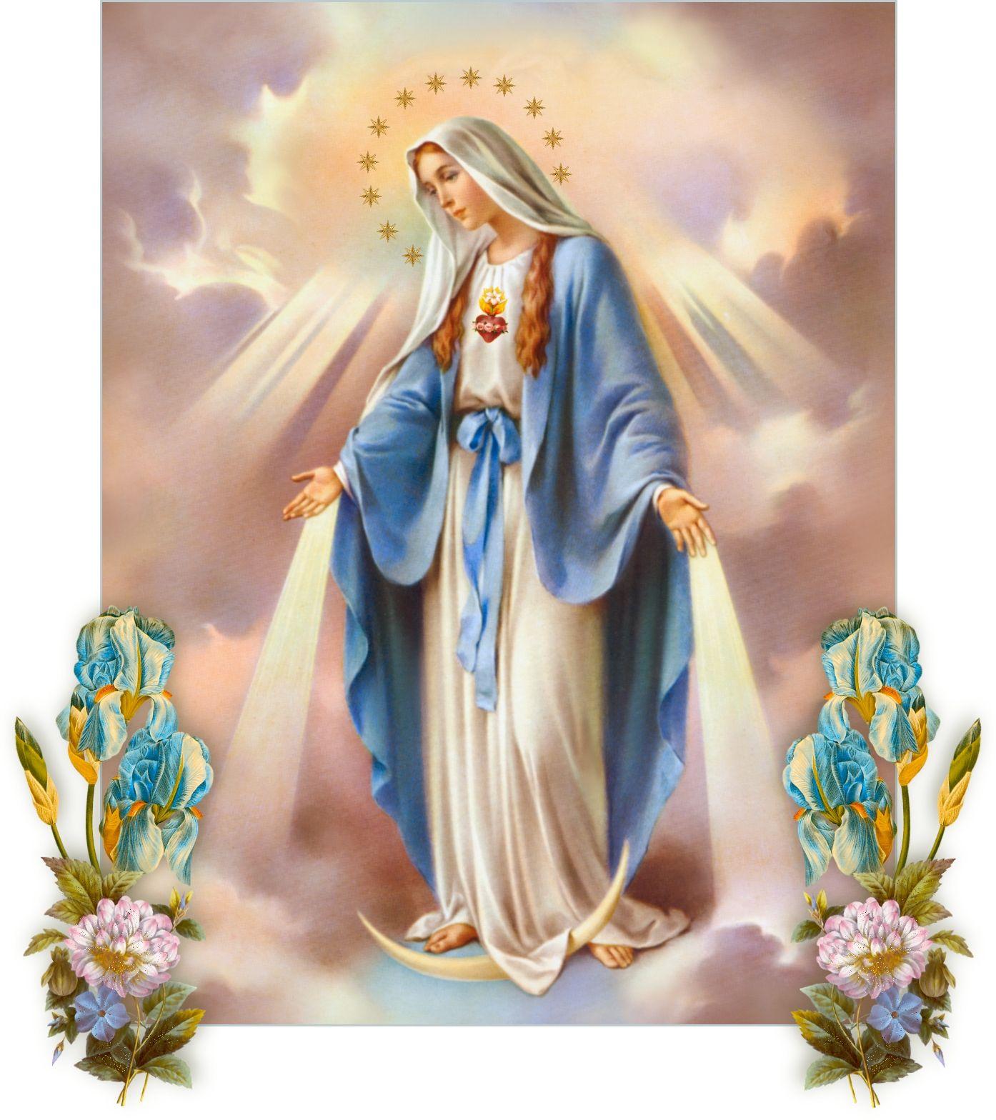Picture of the blessed virgin
