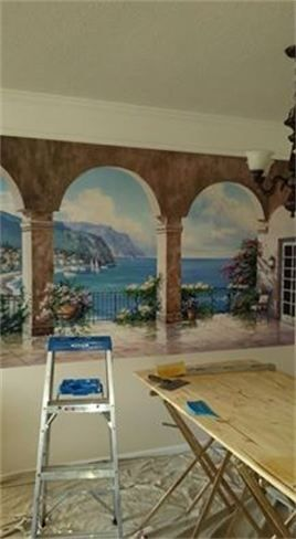 Greek Wallpaper Mural Distinctive Wallpaper Projects Pinterest