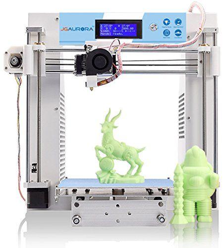 JGAURORA 3d Printer Desktop DIY 3d Printers Kit Self Assembly Metal ...