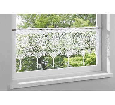 querbehang curtains pinterest gardinen gardinen h keln und h kelideen. Black Bedroom Furniture Sets. Home Design Ideas