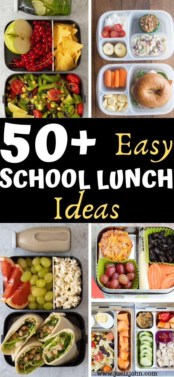 25 Healthy Back To School Lunch Ideas To Copy This Year Lunch