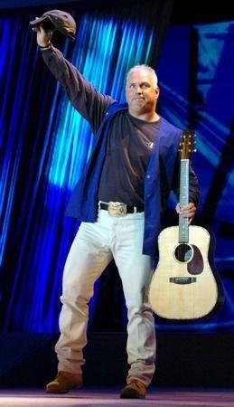 Garth Brooks Poster Guitar 24in x36in