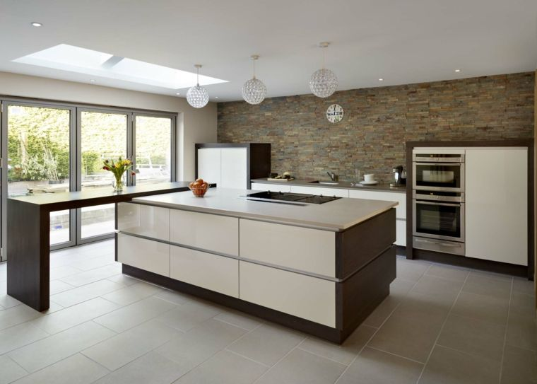 Cocinas minimalistas - 24 diseños de interiores ultramodernos ...