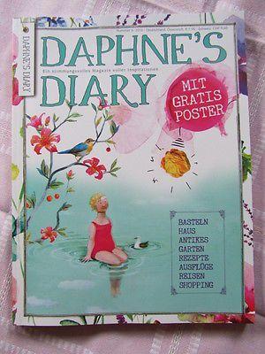 Zeitschrift Daphnes Diary Heft 6 2016 Aktuellste Ausgabe Daphnes Diary Sewing Book S Diary