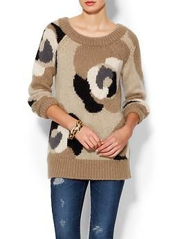 Kate Spade New York Deco Rose Mohair Sweater | Piperlime