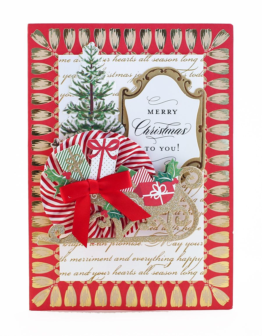 Hsn 10 5 16 Glorious Greetings Card Kit Anna Griffin Cards Anna Griffin Christmas Cards Christmas Card Making Kits
