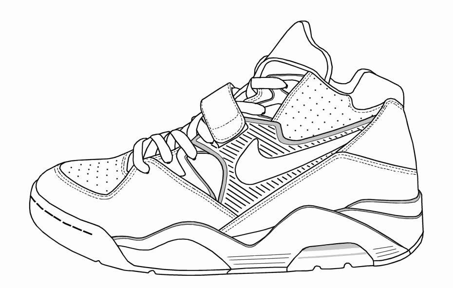Lebron James Coloring Page Unique Nike Coloring Pages Coloring Home In 2020 Lebron James Lebron James Shoes Coloring Pages